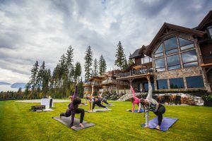 outdoor activities, bison lodge, yoga, adventure, outdoor adventure