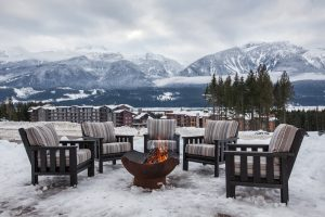 Revelstoke Bison Lodge Firepit