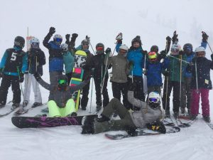 Revelstoke Bison Lodge Skiing